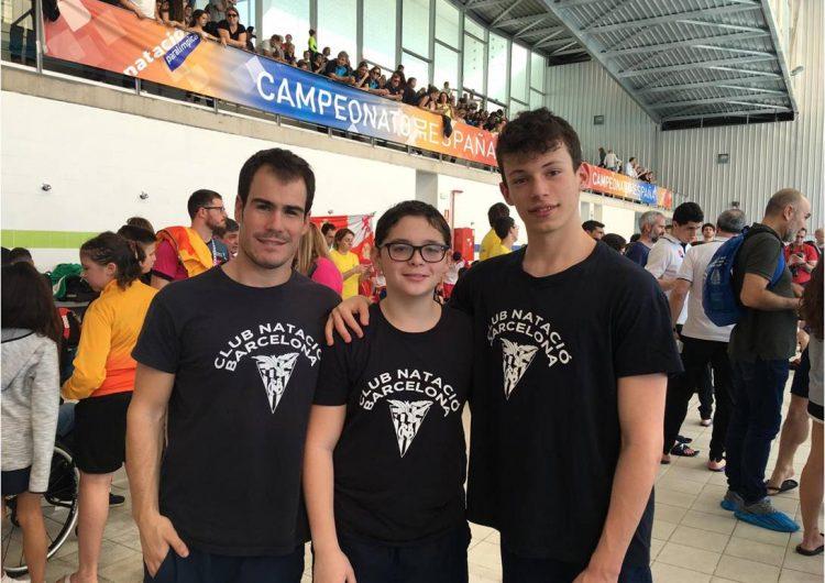 Bons resultats d'Íker Ruiz al Campionat d'Espanya de Joves Promeses de Natació Adaptada