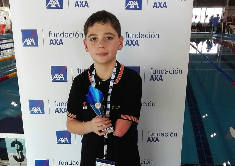 Íker Ruiz arrasa al Campionat Estatal de Natació Adaptada
