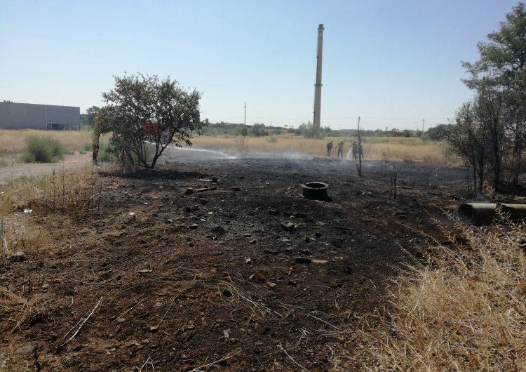 Incendi al c/Noguera Pallaresa de Balaguer