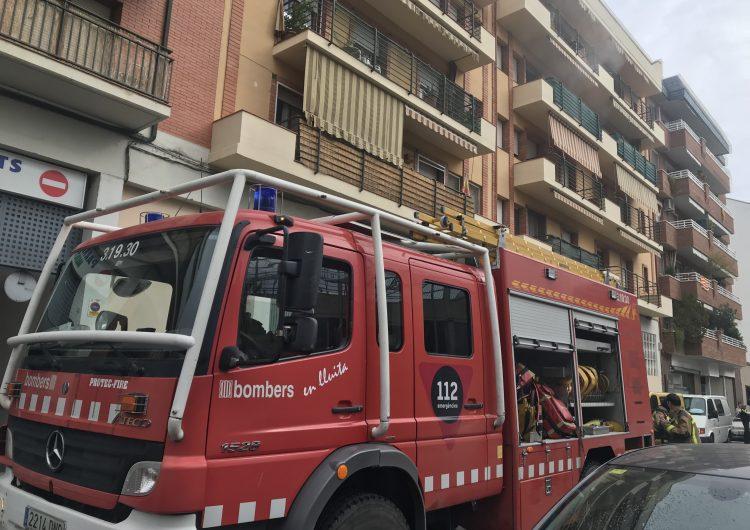 Incendi en una cuina d'un domicili de Balaguer