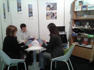 L'Espai Orígens presenta les visites guiades amb tabletes al Saló de l'Esport i Turisme de Muntanya de Lleida