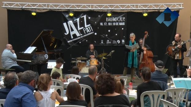 Contes musicats al Festival 'Jazz al Pati' de Balaguer