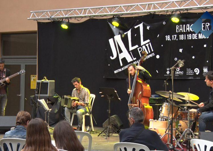 The New Tango Project inaugura oficialment el 2n Festival Jazz al Pati de Balaguer