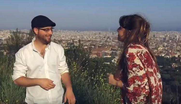 """Joan Blau i Mia Fuentes presenten """"23 d'abril"""", la nova cançó de Sant Jordi"""