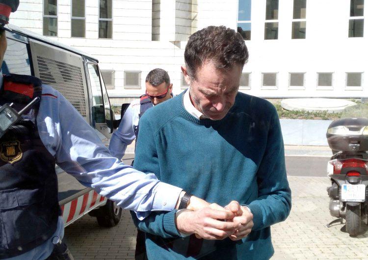 El militant de Vox a Lleida detingut per presumpte delicte d'abusos sexuals se sotmet a una roda de reconeixement