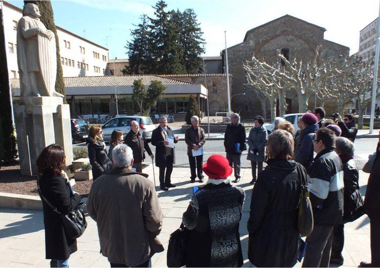 Retalls d'Art divulga l'escultura de Jaume II d'Urgell