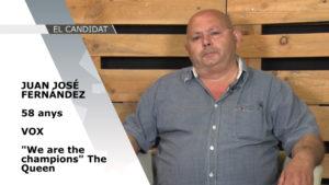 El Candidat – Eleccions Municipals 2019: Juan José Fernández (Vox)