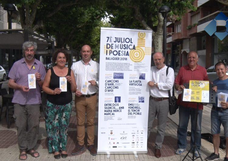 La Coral Sant Jordi inaugurarà el 7è Juliol de Música i Poesia de Balaguer el proper 8 de juliol