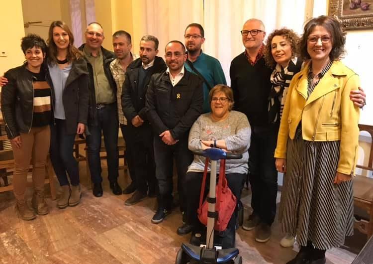 Junts per Catalunya presenta la candidatura de Ponts per les municipals