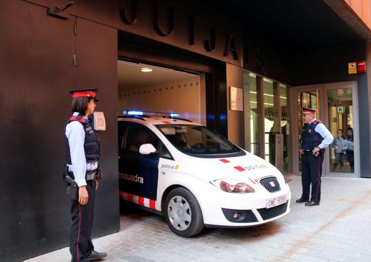 Detingut un home a Alfarràs per agredir un altre amb una copa de vidre trencada al coll