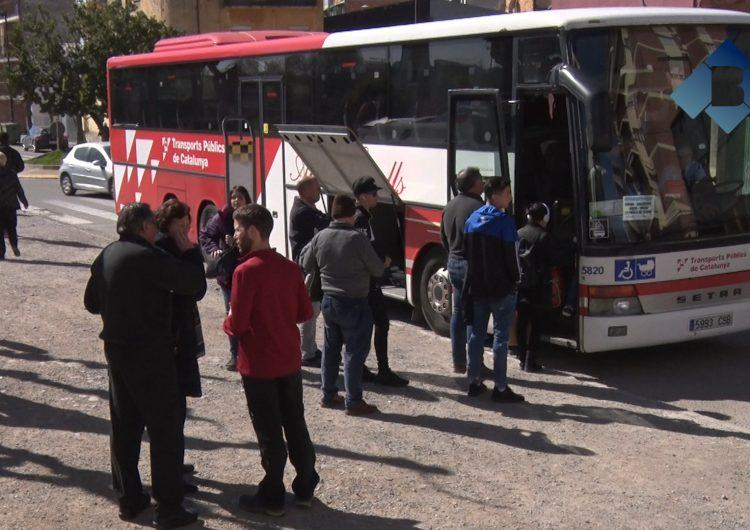 FGC interromp la circulació de trens entre Balaguer i La Pobla de Segur i facilita un servei d'autobusos substitutoris