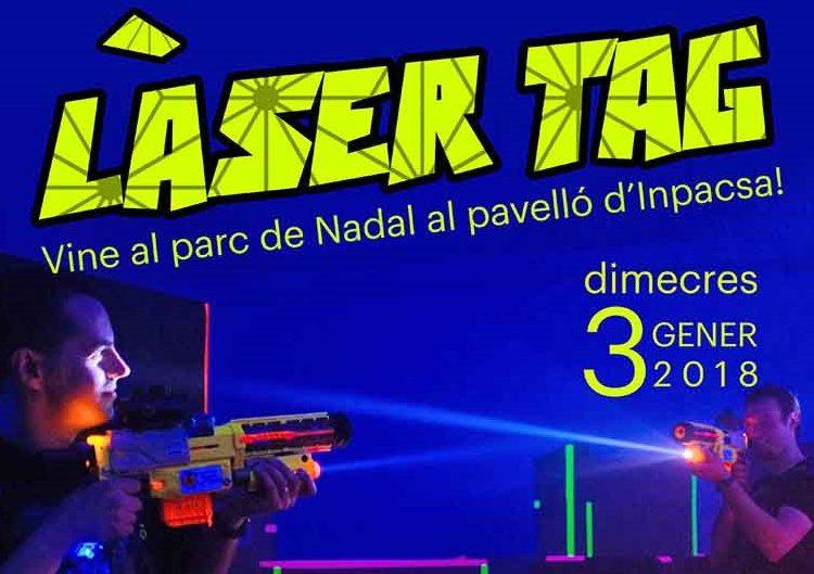 """Batalla de """"Làser Tag"""" aquest dimecres al Pavelló Inpacsa de Balaguer"""