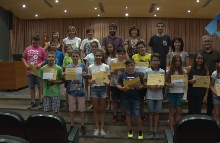 Lliurament de premis del concurs de lectura en veu alta a la ràdio