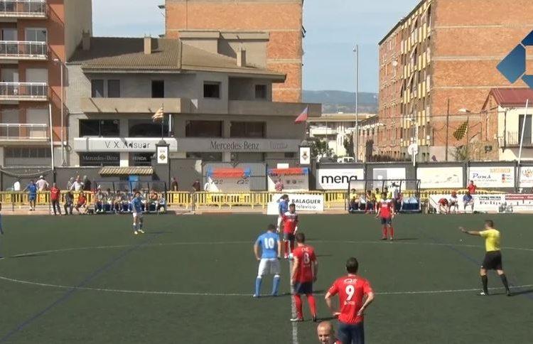 El CF Balaguer guanya al Lleida B però queda fora de la promoció d'ascens