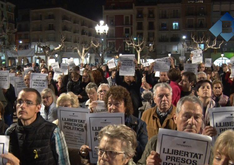 Balaguer i la Noguera es mobilitzen per exigir la llibertat dels detinguts