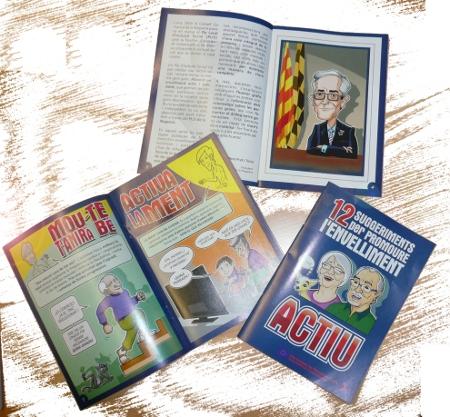Presentació dels '12 suggeriments per promoure l'envelliment actiu' a Artesa de Segre