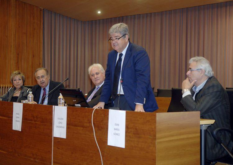 "López-Casasnovas parla a Balaguer dins del cicle ""Catalunya 1714-2014"""