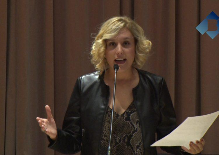 La periodista Magda Gregori reivindica la figura de la dona en el pregó de la Festa Major de Balaguer