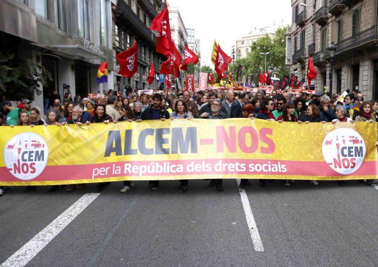 """La Intersindical-CSC posposa la vaga general del 7 al 21 de febrer per """"garantir un major èxit"""" de la convocatòria"""