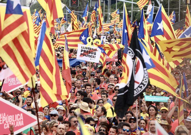 Més de 500 autocars sortiran de Catalunya per anar a la manifestació de Madrid contra el judici de l'1-O