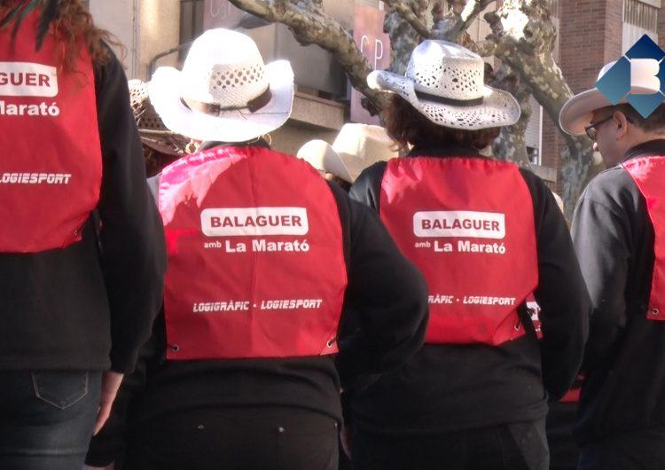 Balaguer es bolca amb la Marató de TV3 per recaptar fons per les malalties infeccioses