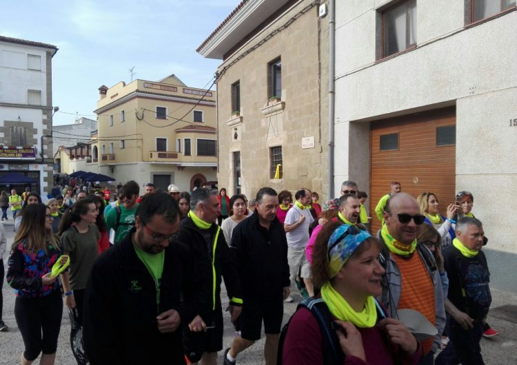 La Marxa Popular del Baix Sió aplega més de 300 participants a Montgai