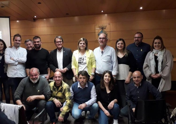 Artur Mas presenta la llista de Junts per Térmens encapçalada per Concep Cañadell