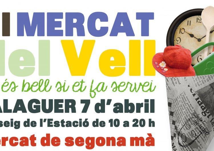 El VI Mercat del Vell es celebrarà el proper 7 d'abril a Balaguer