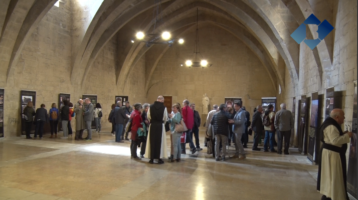 El Monestir de Poblet acull l'exposició 'Santa Maria de les Franqueses, petjades del Cister a la Noguera'