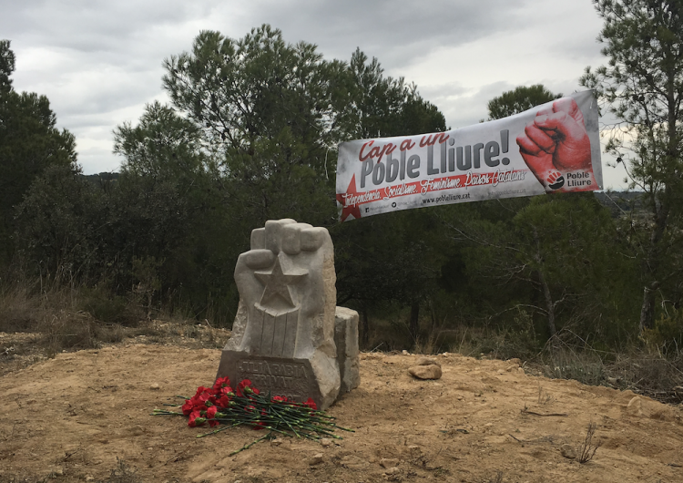 Un jutge demana retirar un monòlit en memòria de Julià Babia a Castelló de Farfanya