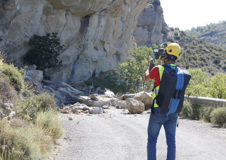 L'accés principal al congost de Mont-rebei romandrà tancat almenys una setmana pel despreniment de roques