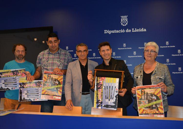 Ismael Civic, el millor mag del món, inaugurarà Montgai Màgic el proper dia 3 d'octubre