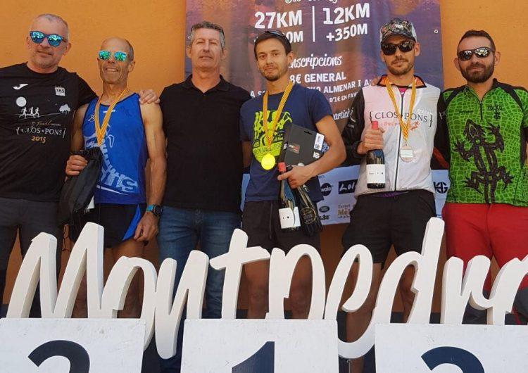Diego Cardozo i Joana Okarma, guanyadors de la 3a Trail Montpedró d'Ivars de Noguera