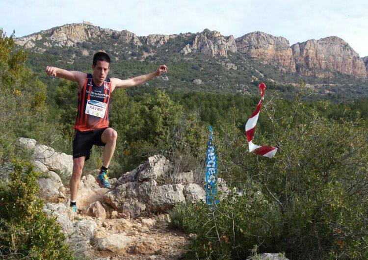 Josep Cuadrat i Sílvia Puigarnau, guanyadors de la 7a Trail Montroig Extrem