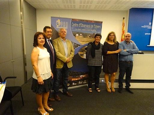 El Parc Astronòmic del Montsec, anomenat ambaixador platí de cels foscos de la International Astronomical Union