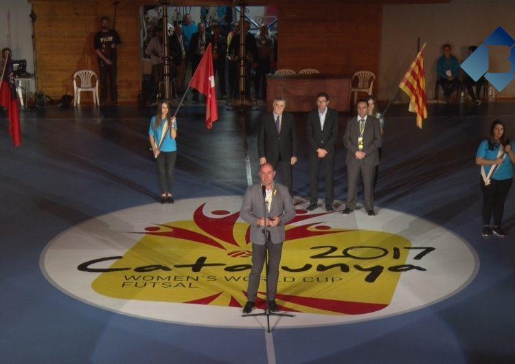 Comença el Mundial Femení de Futbol Sala a Balaguer