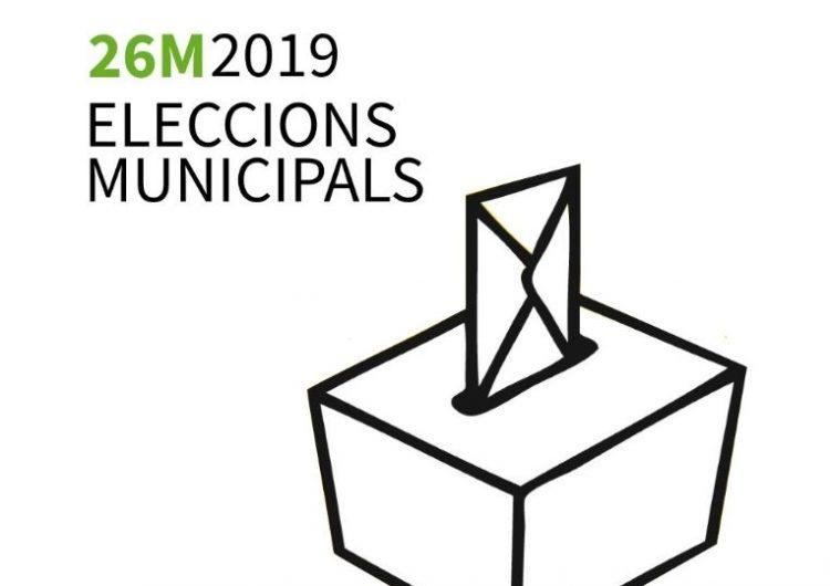 Vuit candidatures es disputaran l'alcaldia de Balaguer