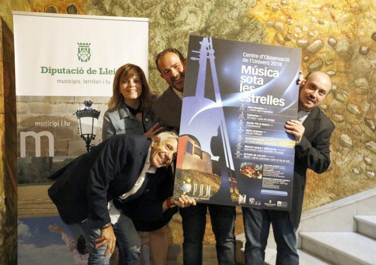 Joan Masdéu, Núria Graham i El Petit de Cal Eril, noms destacats del cicle 'Música sota les estrelles' del COU d'Àger
