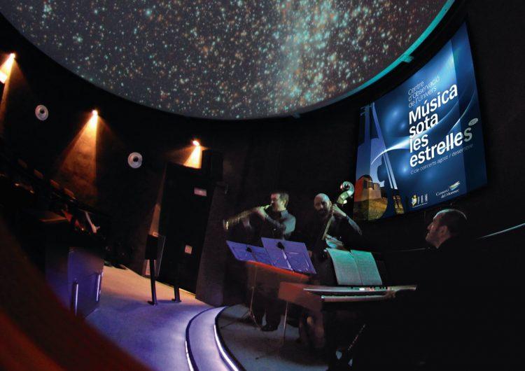 Comença el nou cicle Música sota les Estrelles al Parc Astronòmic Montsec