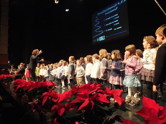 Més de 200 alumnes participen en el Concert de Nadal de l'Escola Municipal de Música de Balaguer