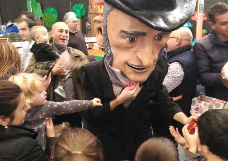 El parc de Nadal de Balaguer acomiada l'any amb l'Home dels Nassos