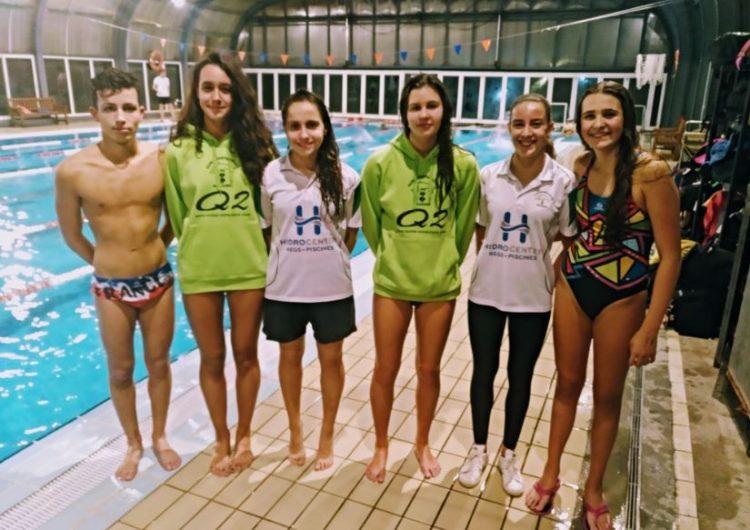 Bons resultats al Circuit Català de Natació Absolut per al CEN Balaguer