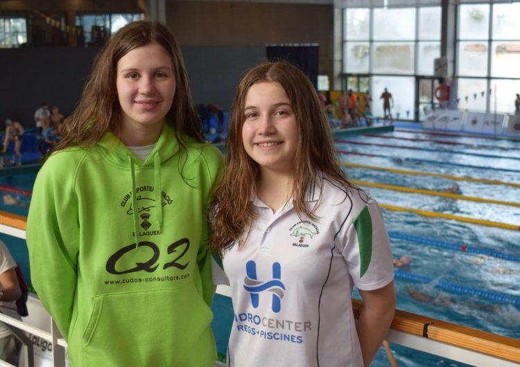 Bons resultats de les nedadores del CEN Balaguer al Campionat d'Espanya Infantil d'Hivern