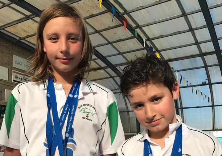 El CEN Balaguer aconsegueix 4 medalles al Campionat de Catalunya benjamí