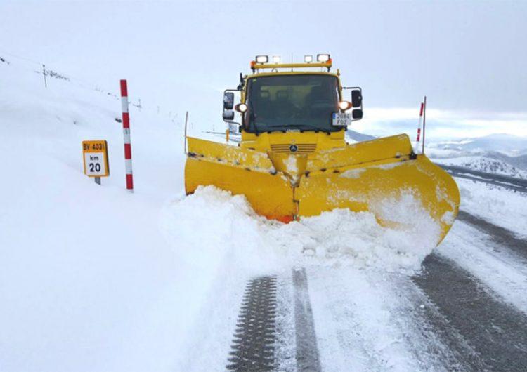 Protecció Civil posa en Alerta el pla NEUCAT per la previsió de nevades intenses demà al Pirineu i Prepirineu