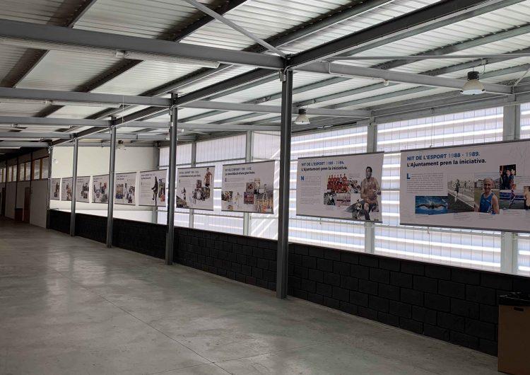 La mostra dels 30 anys de la Nit de l'Esport s'exposarà de forma permanent al pavelló d'Inpacsa