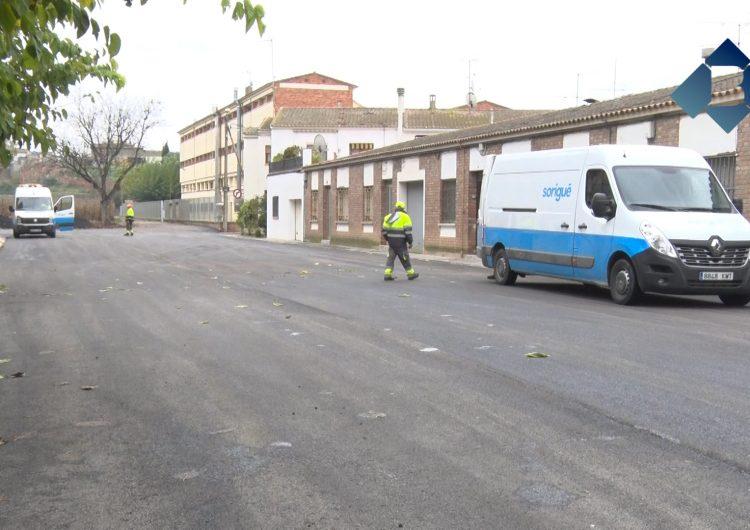 L'Ajuntament de Balaguer arranja diversos carrers de la ciutat