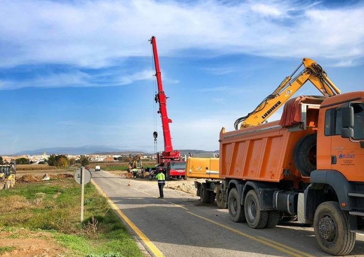 La carretera de Bellcaire d'Urgell a Linyola quedarà tallada al trànsit del 26 de novembre al 12 d'abril per les obres