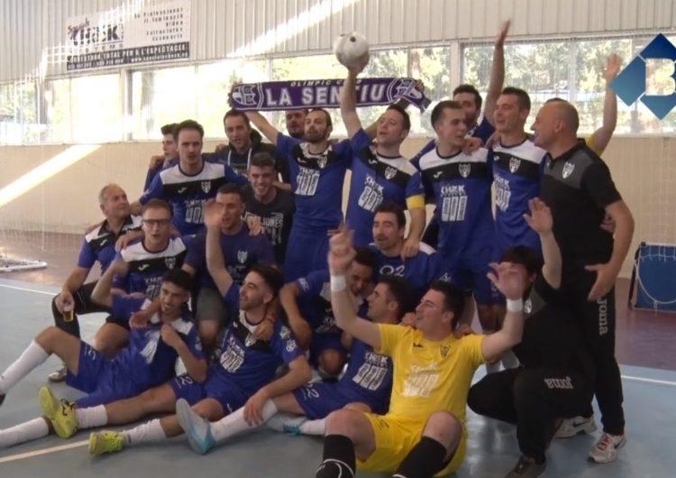 L'Olímpic Club La Sentiu es proclama campió de lliga ascendint a Tercera Nacional