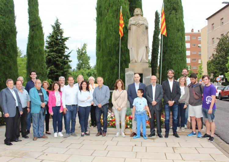 Ofrena Floral del Casal Pere III al Comte d'Urgell